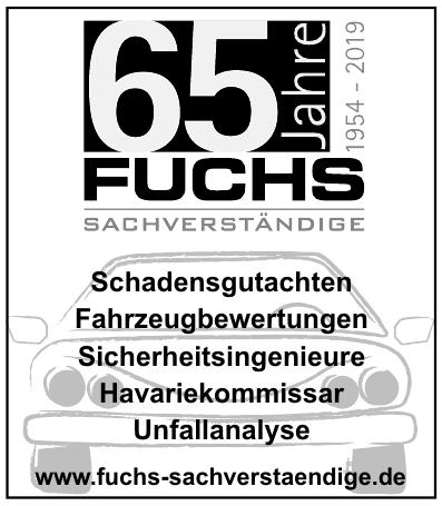 Fuchs Sachverständige