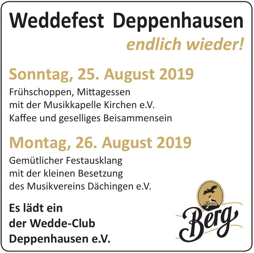 Weddefest Deppenhausen