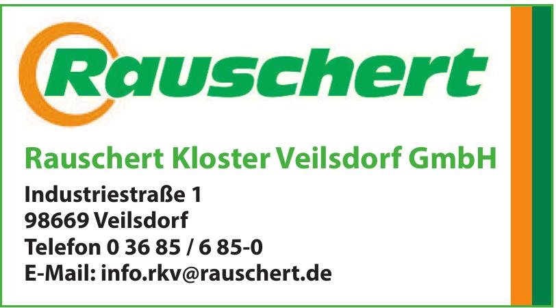 Rauschert Kloster Veilsdorf GmbH