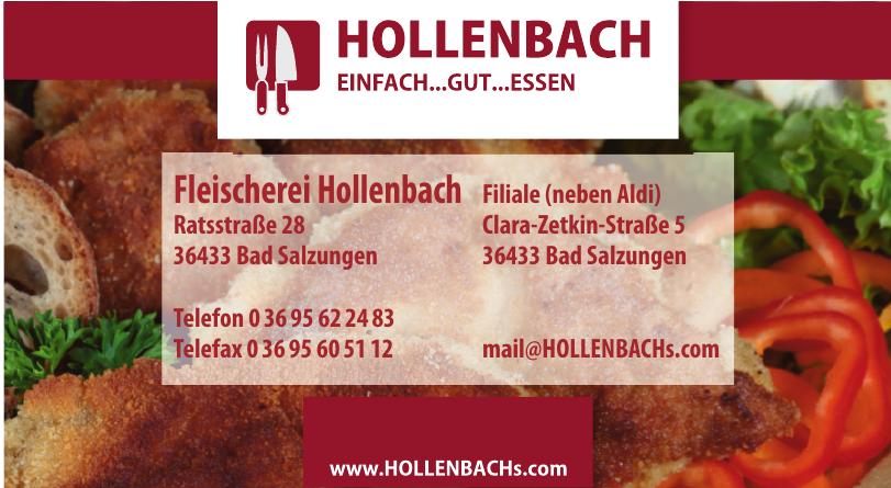 Fleischerei Hollenbach