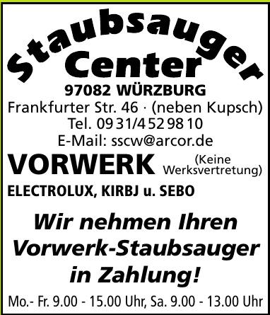 Staubsauger Center