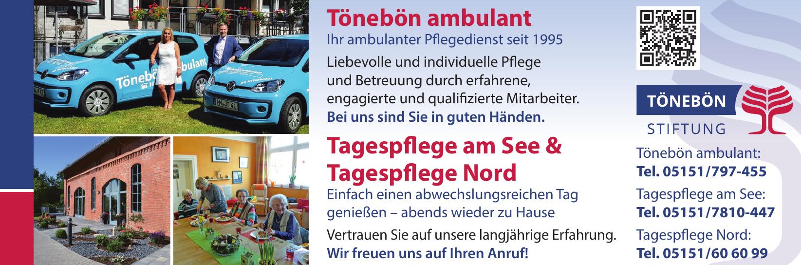 Tönebön Stiftung - Tönebön Ambulant