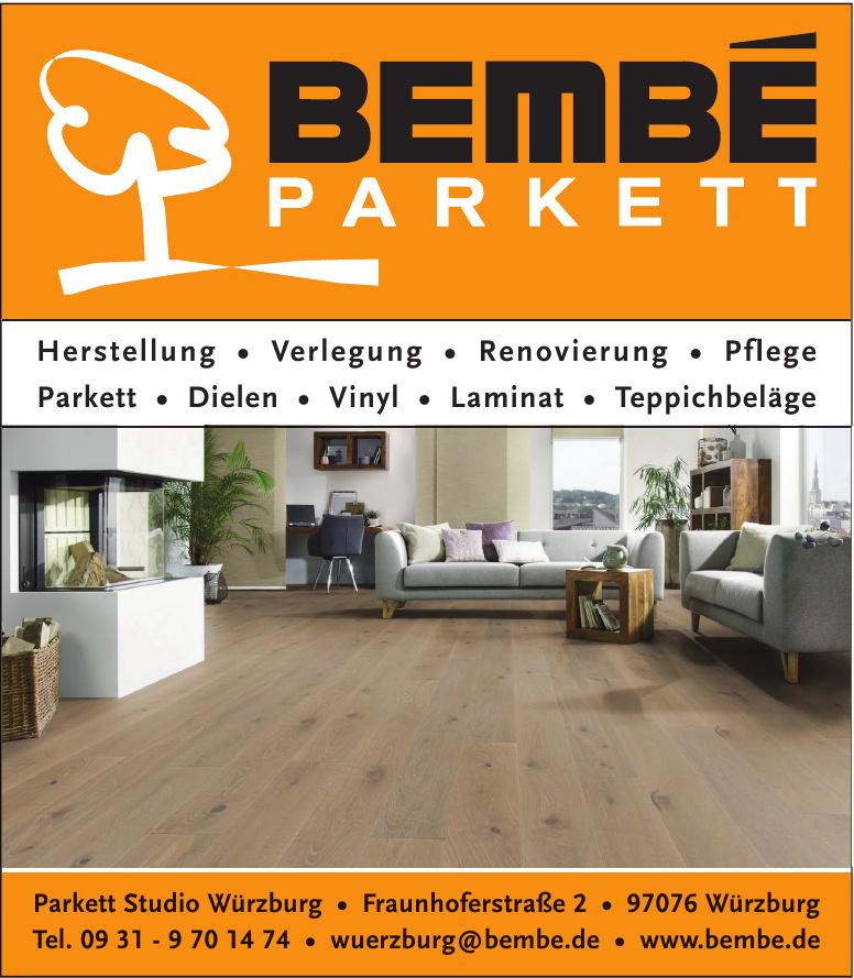 Bembé Parkett Studio Würzburg