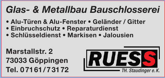 Ruess TH. Staudinger e.K.
