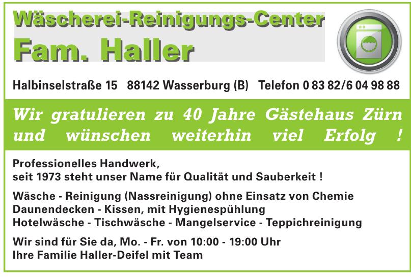 Wäscherei-Reinigungs-Center Fam. Haller