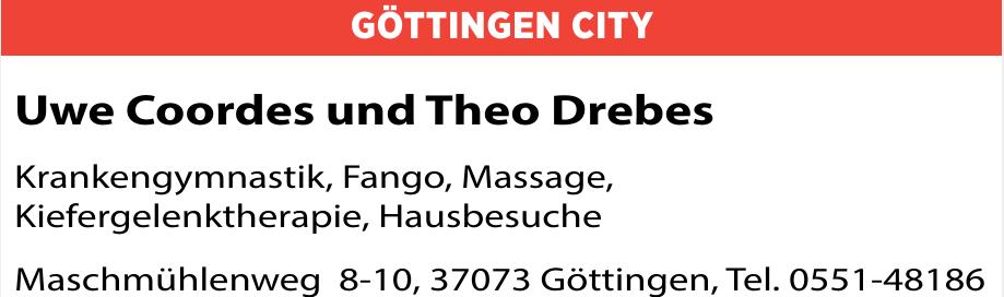 Uwe Coordes und Theo Drebes
