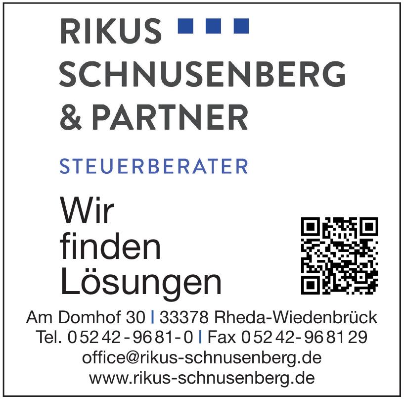 Rikus, Schnusenberg & Partner