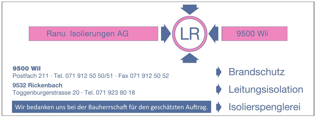 LR Ranu Isolierungen AG
