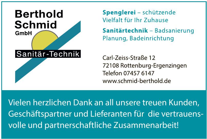 Berthold Schmid GmbH
