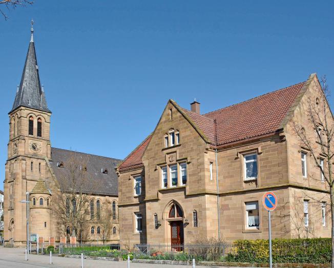 Michael Harmsen hielt die evangelische Kirche im Bild fest.