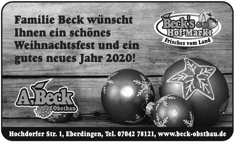Beck's Hof-Markt