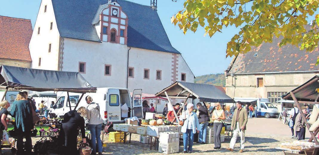 DAS KLOSTER BUCH ist nicht nur am Markttag sehenswert. Foto: Kloster Buch