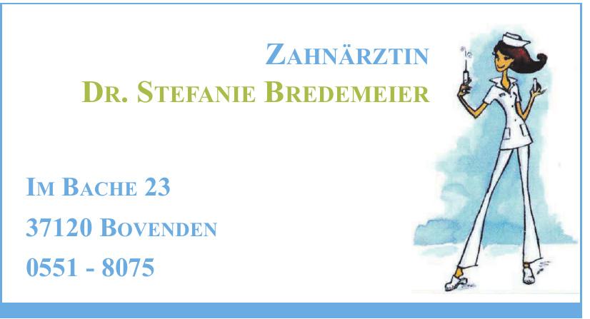 Zahnärztin Dr. Stefanie Bredemeier