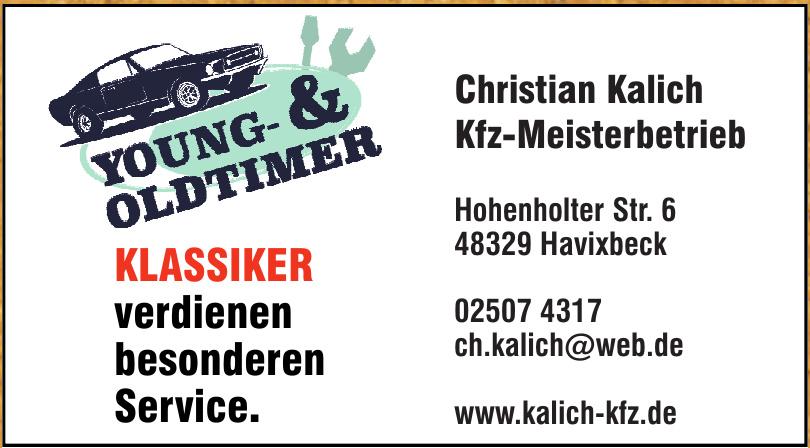 Ch. Kalich Kfz - Meisterbetrieb