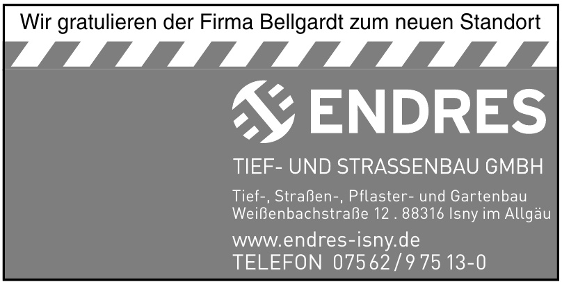 Endres Tief- und Strassenbau GmbH