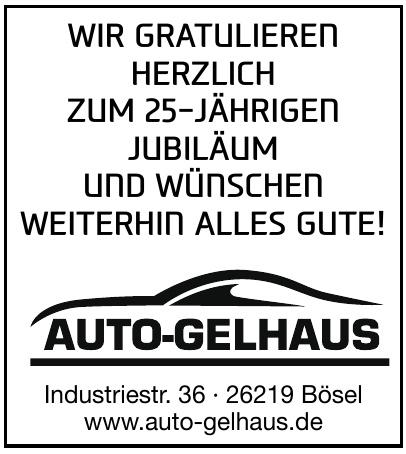 Auto-Gelhaus