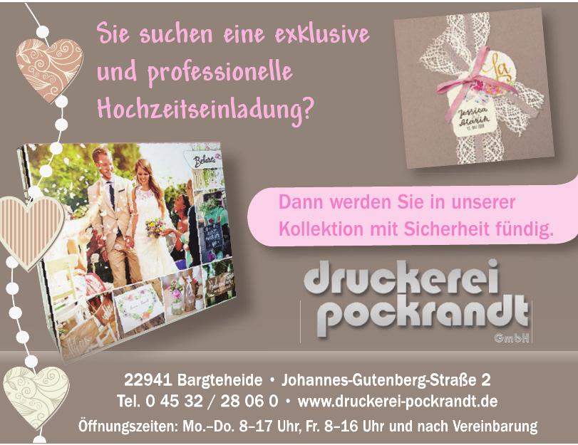 Druckerei Pockrandt GmbH