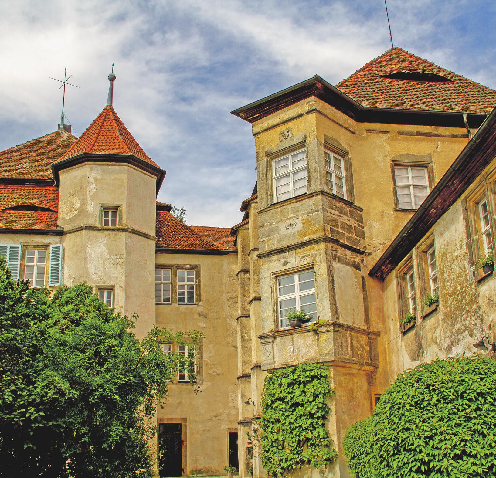 Das Pretzfelder Schloss. Fotos: Andreas Hofbauer