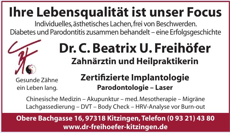 Dr. C. Beatrix U. Freihöfer