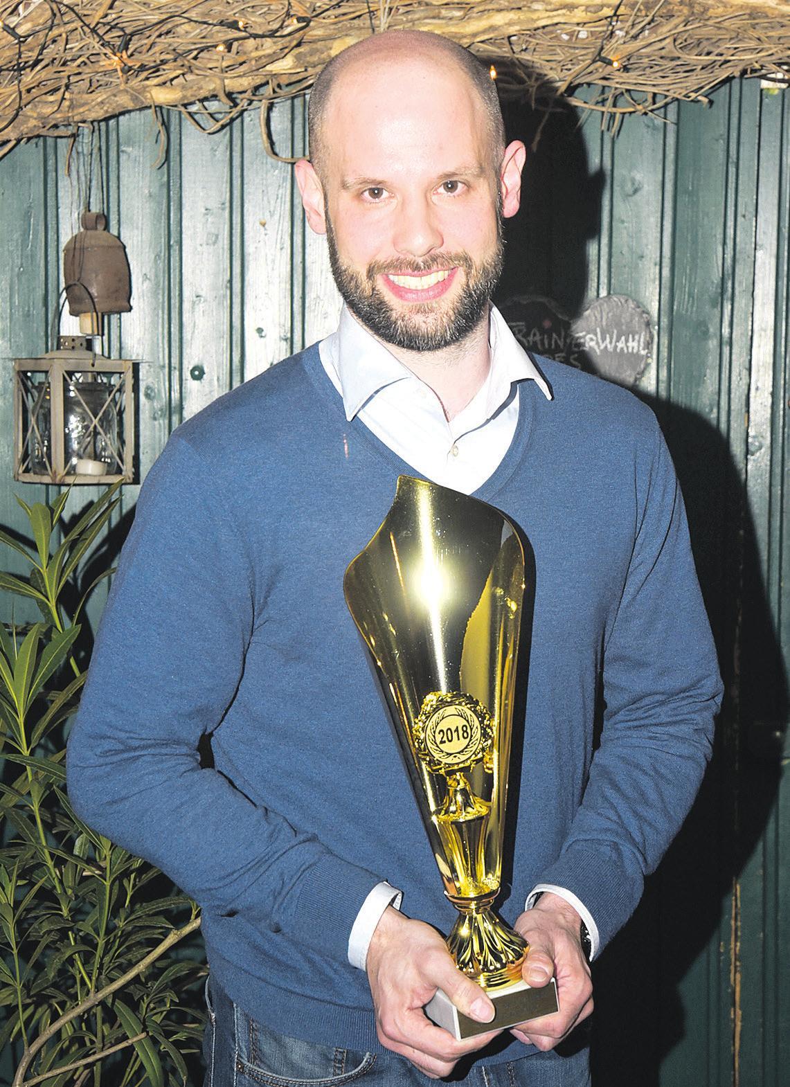 Der diesjährige Trainer des Jahres: Björn Lippa von TuS Bergen/ LG Celle-Land. Foto: Bodo Theel