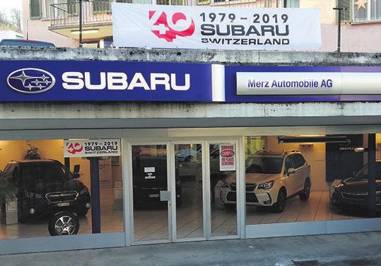 Merz Automobile AG, Mellingerstrasse 56a, 5400 Baden