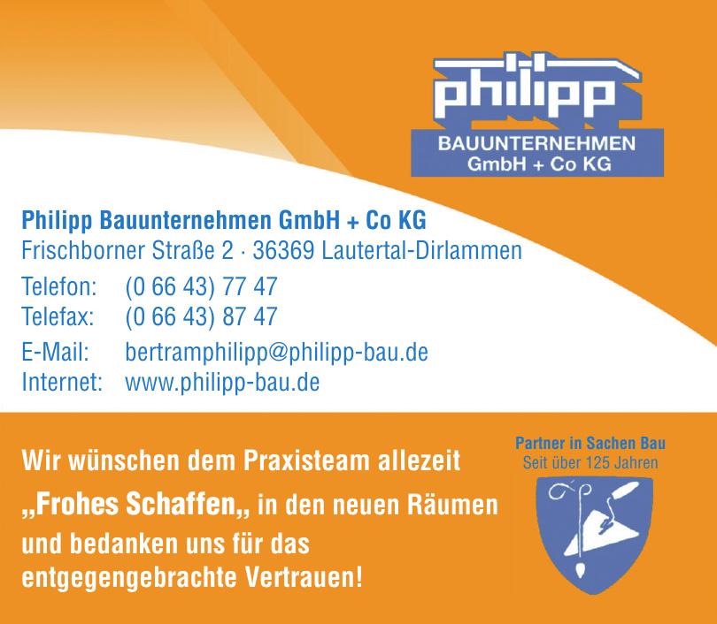 Philipp Bauunternehmen GmbH + Co. KG