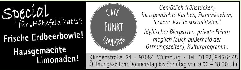 Café Punkt Landung