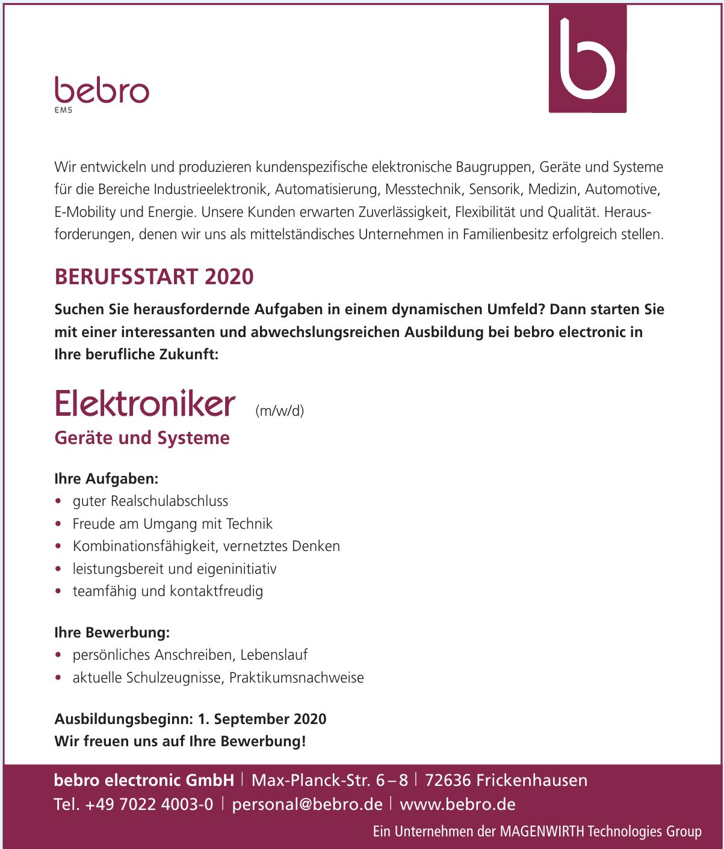 bebro electronic GmbH