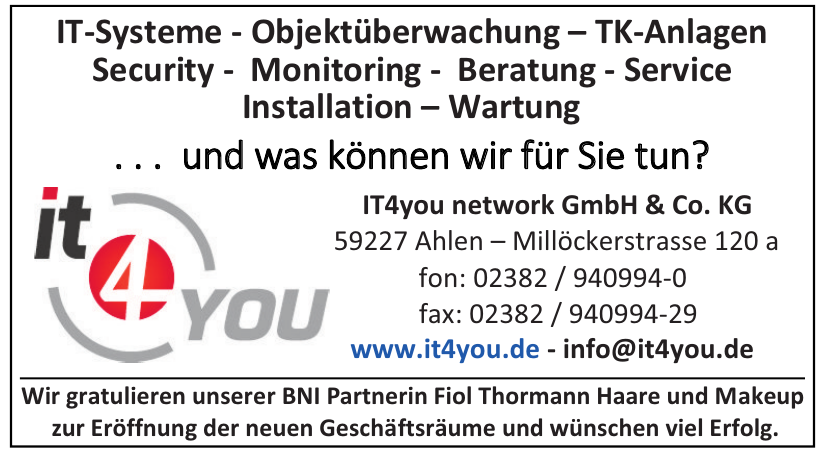IT4you network GmbH & Co. KG