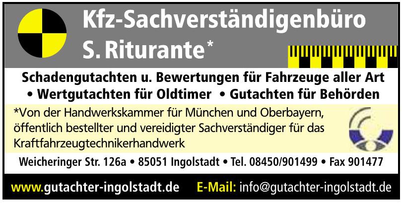 Kfz-Sachverständigenbüro S. Riturante