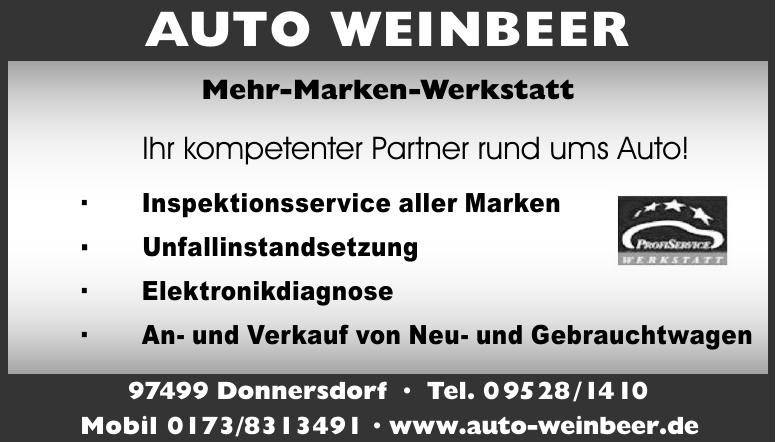 Auto Weinbeer