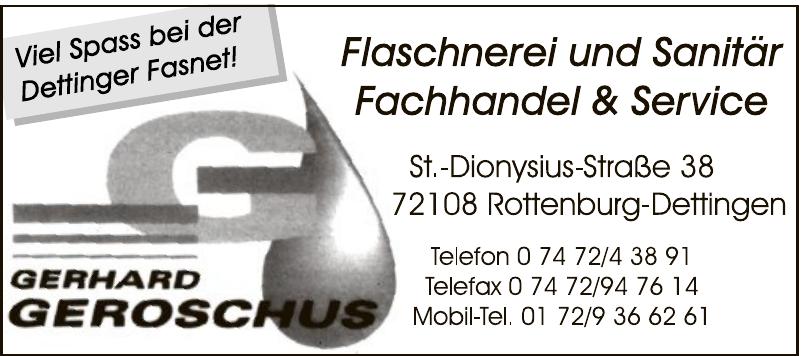 Geroschus Gerhard Flaschnerei-Sanitär