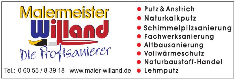 Malermeister Willand