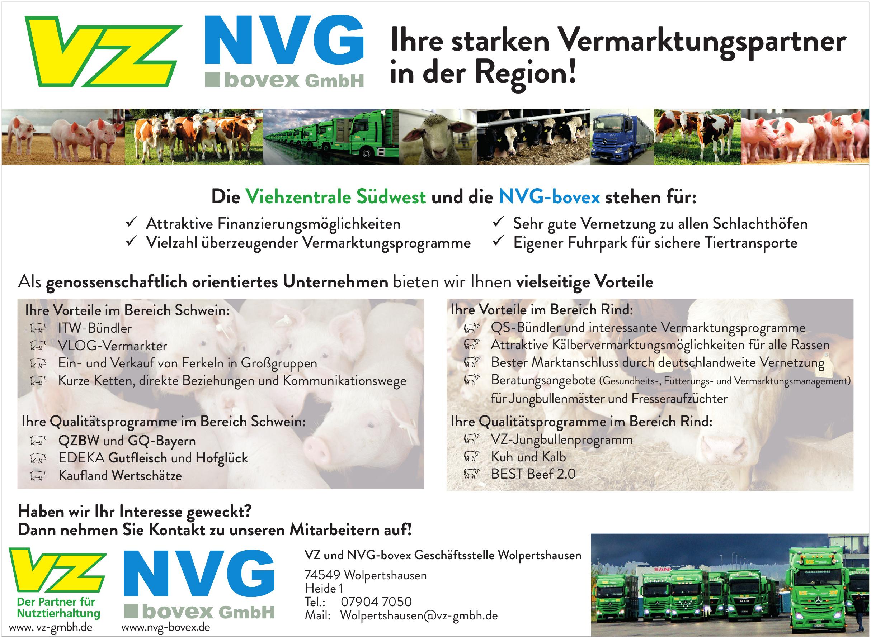 VZ und NVG-bovex Geschäftsstelle Wolpertshausen