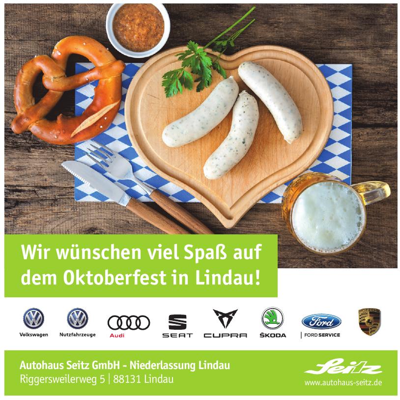 Autohaus Seitz GmbH - Niederlassung Lindau