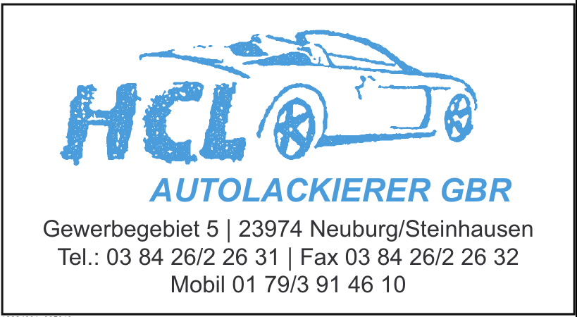 HCL AutoLackierer GbR