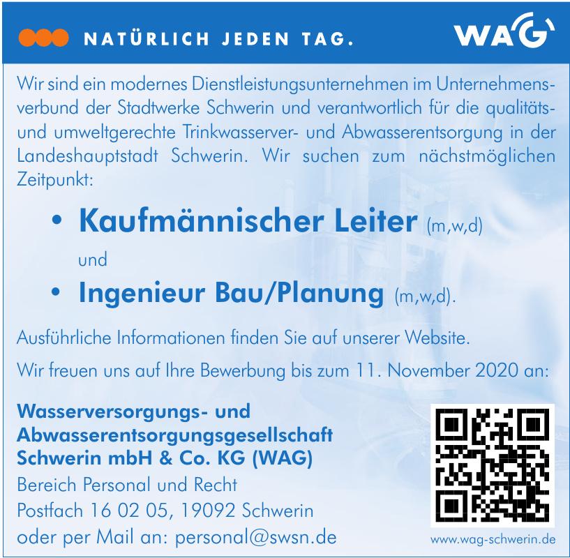 Wasserversorgungs- und Abwasserentsorgungsgesellschaft Schwerin mbH & Co. KG (WAG)