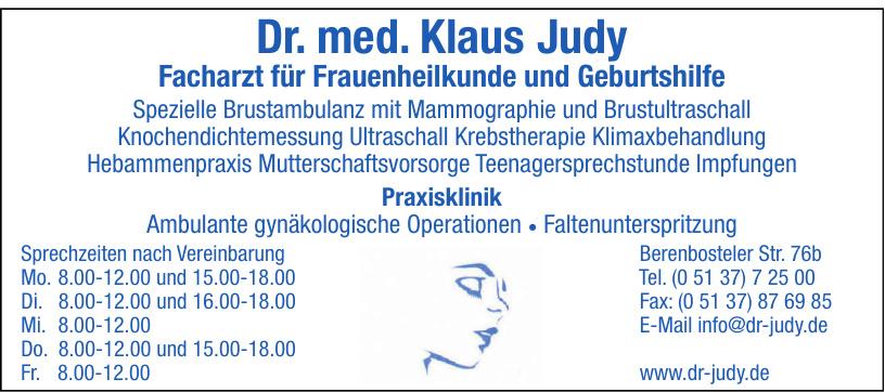Dr. med. Klaus Judy