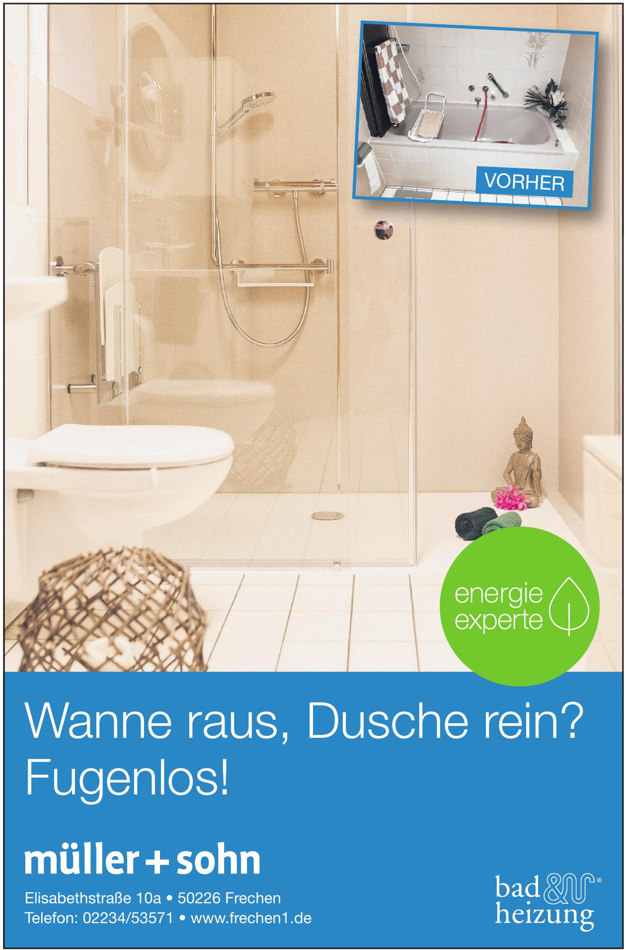 müller + sohn bad + heizung GmbH