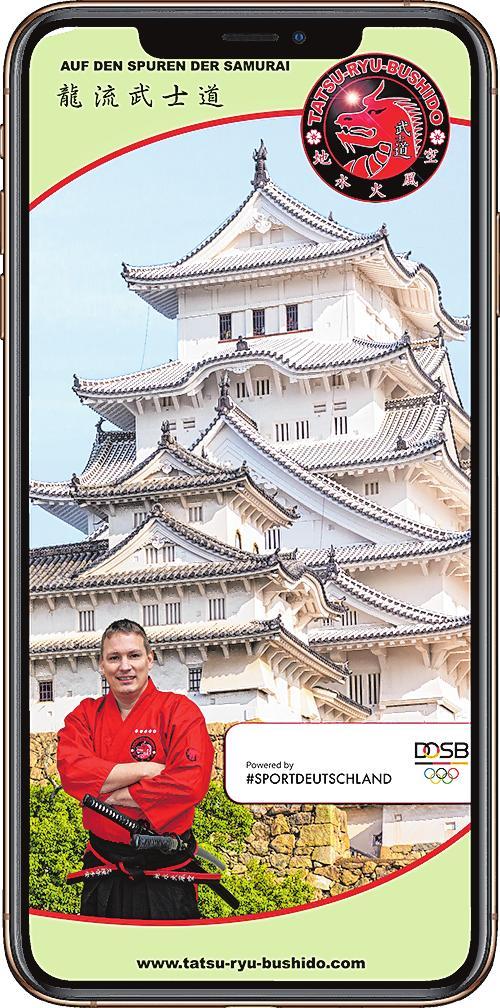 Der Verein Tatsu-Ryu-Bushido Limburgerhof ist längst im digitalen Zeitalter angekommen