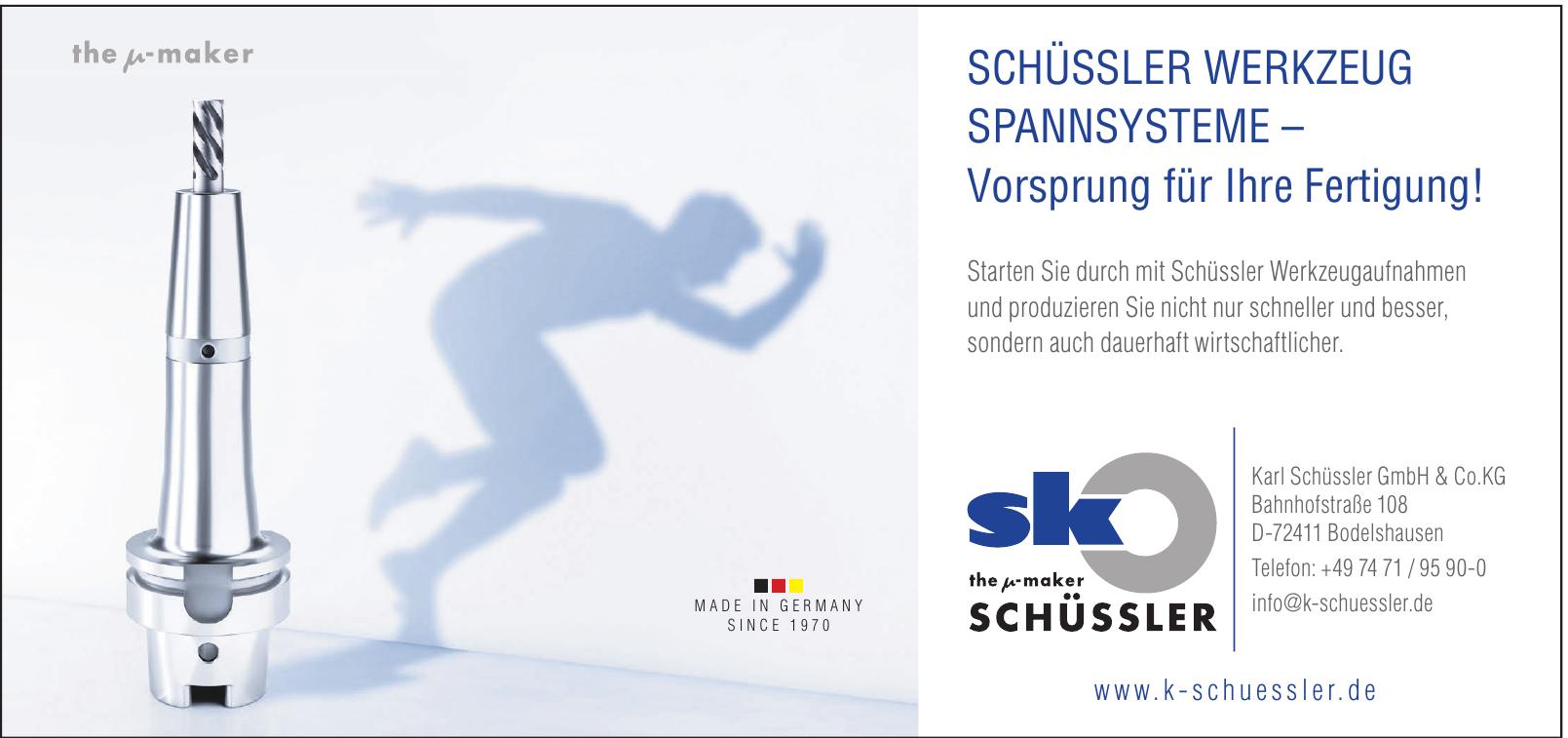 Karl Schüssler GbmH & Co. KG