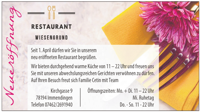 Restaurant Wiesengrund
