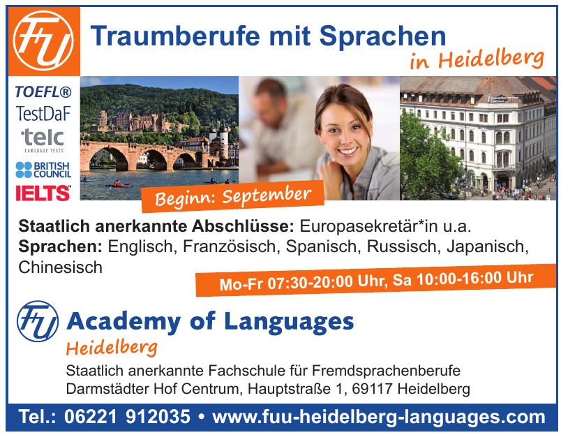 F+U Academy of Langquages Heidelberg