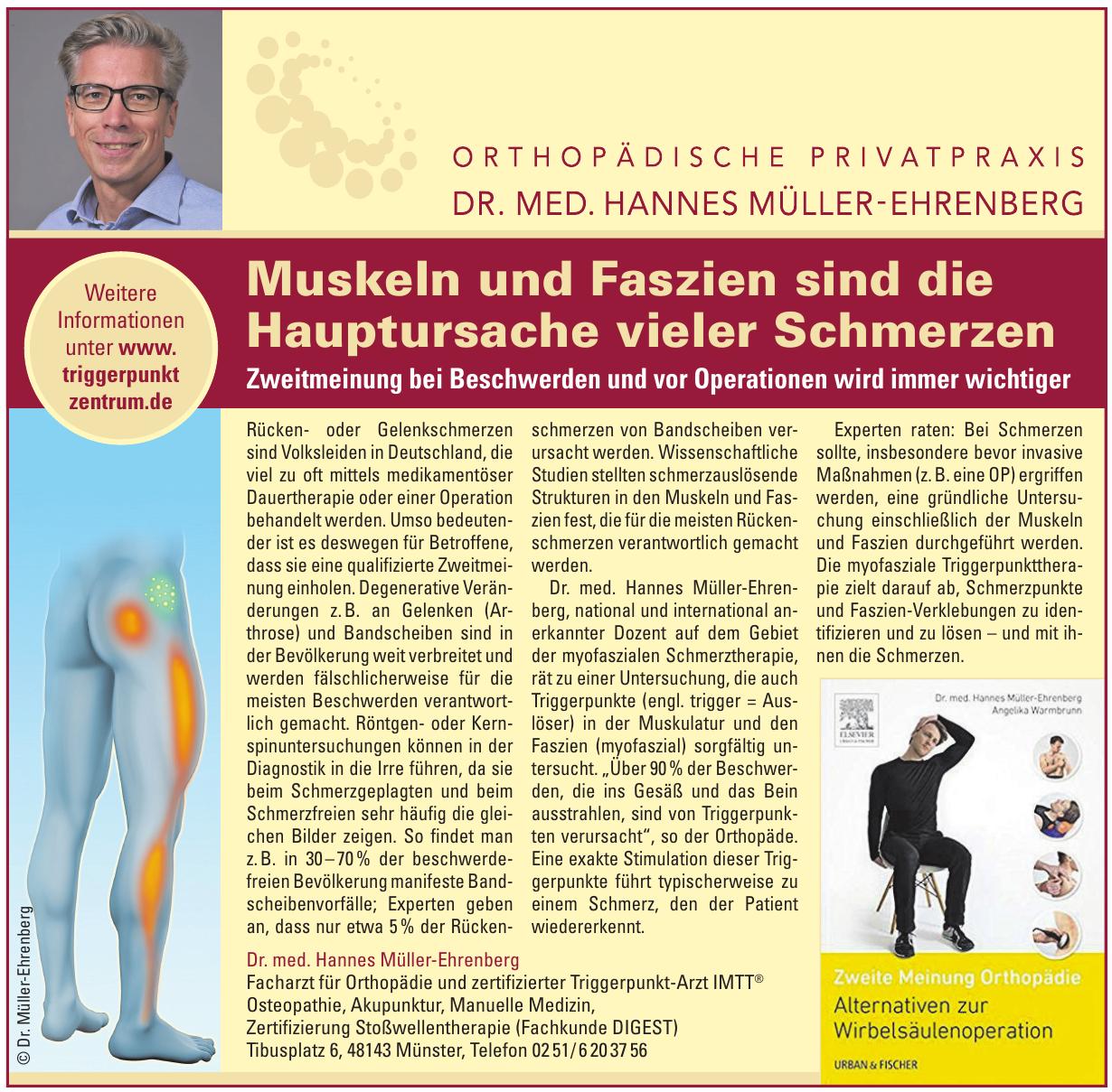 Dr. med. Hannes Mu?ller-Ehrenberg