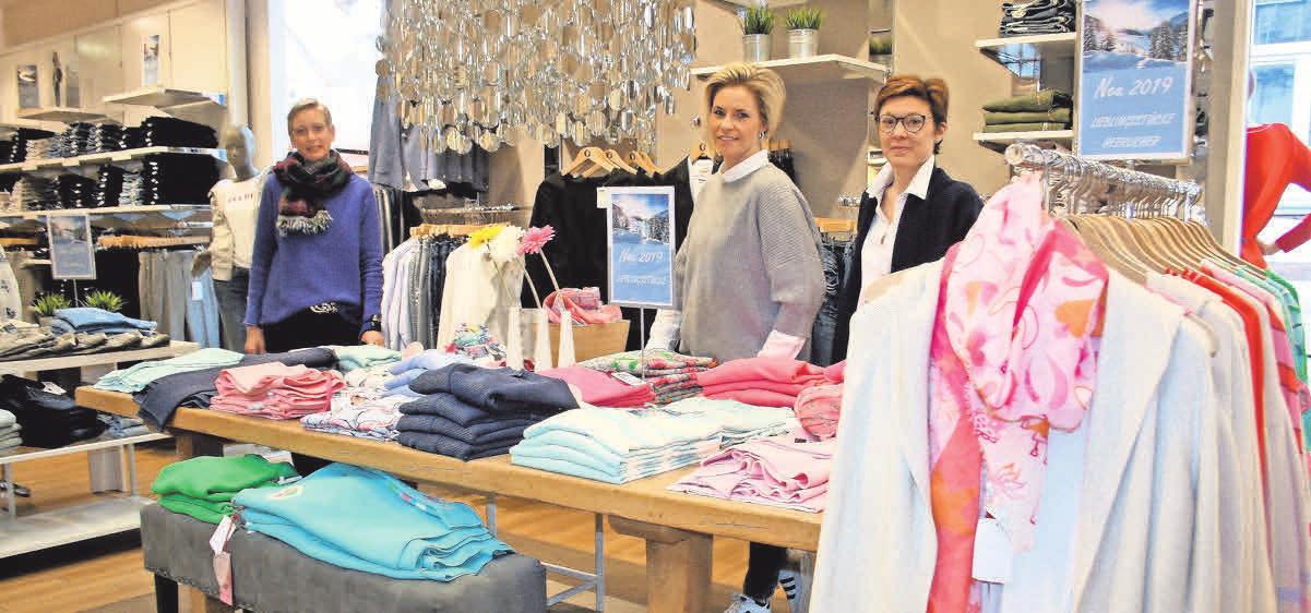 Silke Schmidt, Steffi Voigtmann und Nina Protzner haben passend zum Frühling viel frische Farben und Styles zur Auswahl.