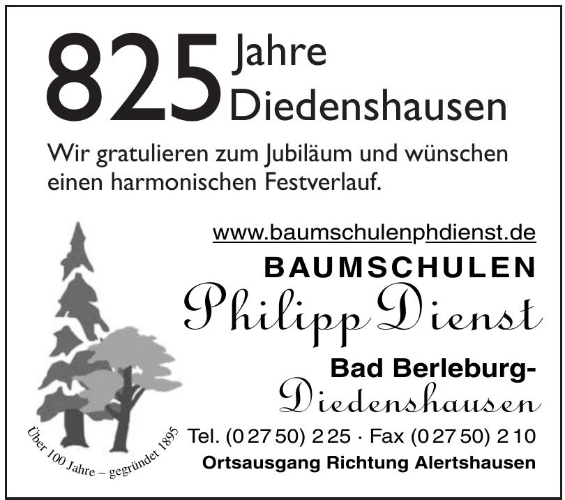 Baumschulen Philipp Dienst
