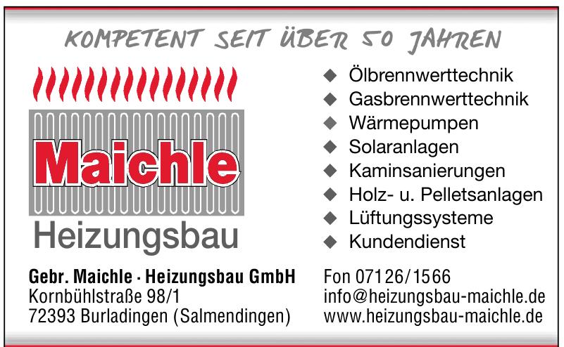 Gebr. Maichle · Heizungsbau GmbH