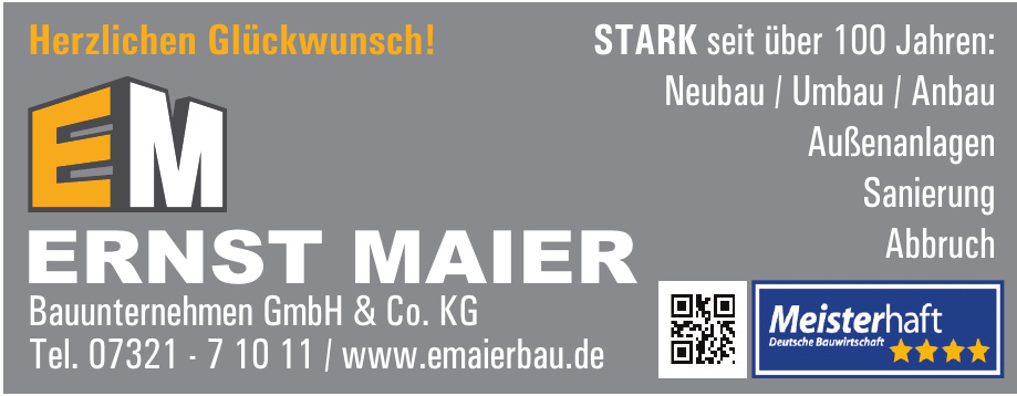 Ernst Maier Bauunternehmen GmbH & Co. KG