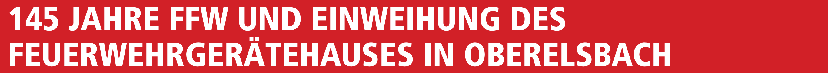 145 Jahre FFW und Einweihung des Feuerwehrgerätehauses in Oberelsbach Image 1
