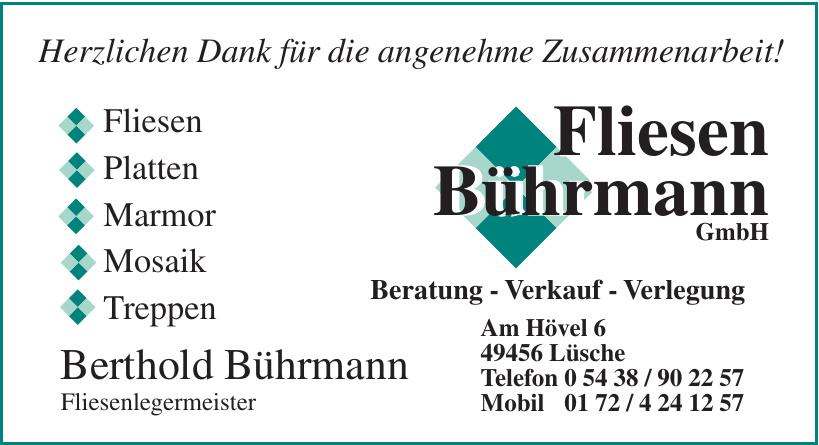 Fliesen Bührmann GmbH